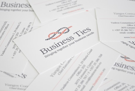 Business Ties Business Cards